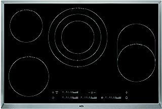 AEG HK854870XB Integrado Con Placa de inducción, Vidrio, Negro, 1600 W