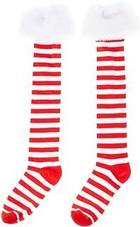 Artistix Christmas Shoppe Christmas Holiday Season 13 Knee High Novelty Socks for Adults, Teens, Tweens, Girls