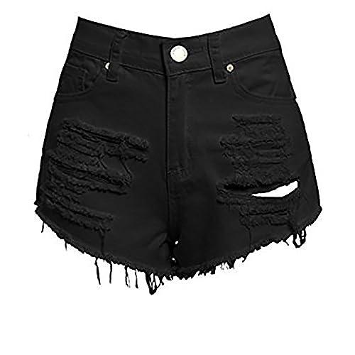 SS7 New Women s High Waisted Ripped Shorts 906d951946a8