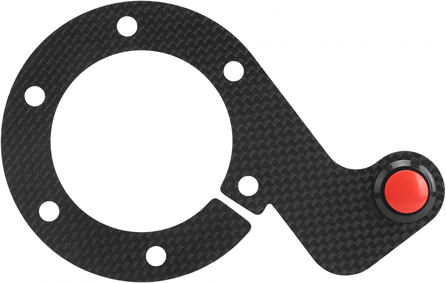 Akozon Carbon Ranking TOP9 Fiber Steering External Soldering Button Whe Wheel