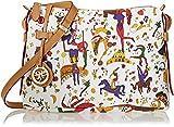 piero guidi 213984088, Borsa a Tracolla Donna, Bianco, 29x18x8 cm (W x H x L)