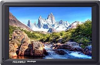 FEELWORLD FW279S| 7 Inch 2200nit Daylight Viewable Camera Field Monitor 3G-SDI 4K HDMI Input Output 1920X1200 IPS Panel