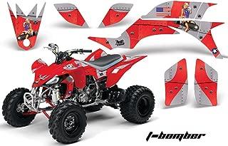 Yamaha YFZ 450 2004-2013 ATV All Terrain Vehicle AMR Racing Graphic Kit Decal T-BOMBER RED