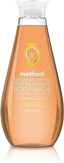 Method Refreshing Body Wash, Mandarin Mango, 18 Fluid Ounce