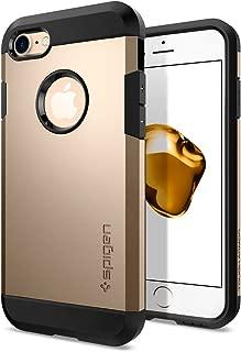 Spigen Tough Armor Serisi Kılıf iPhone 7 ile Uyumlu / TPU AirCushion Teknoloji / Ekstra Koruma - Champagne Gold