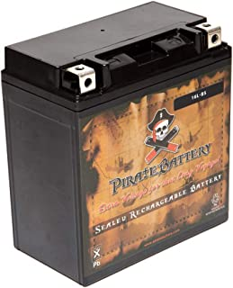 Pirate Battery PWS-YTX16L-BS Rechargeable Power Sport Replacement for Jet Ski Battery for Yamaha Wave Runner 1995