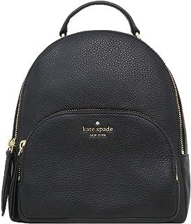 Kate Spade New York Jackson Medium Leather Backpack, Black 2019, Size Medium