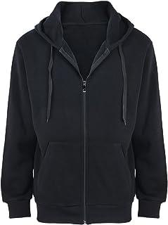1c63f9b2373 Gary Com Fleece Hoodies for Men Zipper Lightweight Spring Long Sleeve  Active Mens Jackets Sports Full