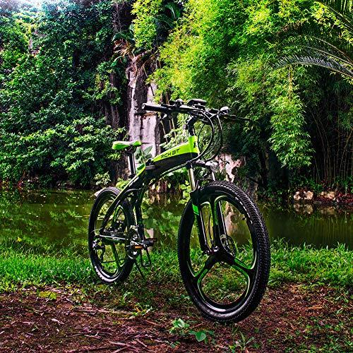 RICH BIT 880 Vélos électrique, Frein hydraulique,Vert