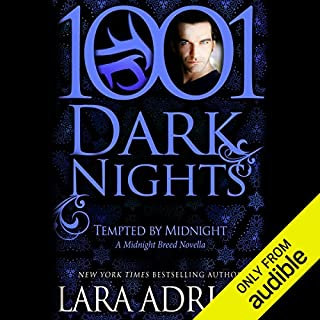 Tempted by Midnight audiobook cover art