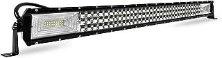Froadp 405W LED Zusatzscheinwerfer Auto Scheinwerfer Nebel Licht Arbeitsscheinwerfer Geführtes Arbeits Licht Bar IP67 Wasserdicht Rückfahrscheinwerfer für SUV LKW UTV(800x75x50mm)