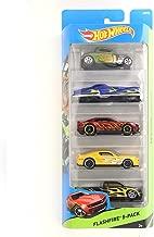 Hot Wheels 5 pack Workshop, Flashfire Vehicle Gift Pack Car Toys