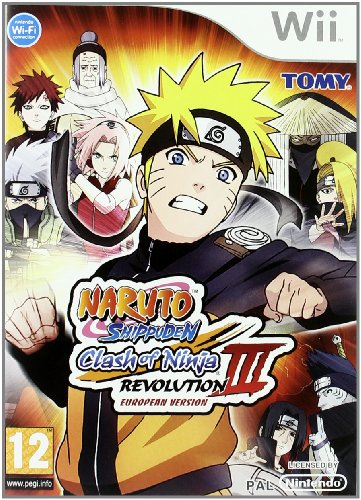 Wii Naruto Clash of Ninja Revolution 3