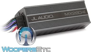JL Audio MX280/4 4-Channel 70W RMS x 4 Compact Marine Amplifier