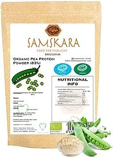 comprar comparacion Proteina de Guisante (83%) en Polvo de Agricultura Ecológica SAMSKARA Organic agriculture Pea Protein Powder (83%) (1kg)