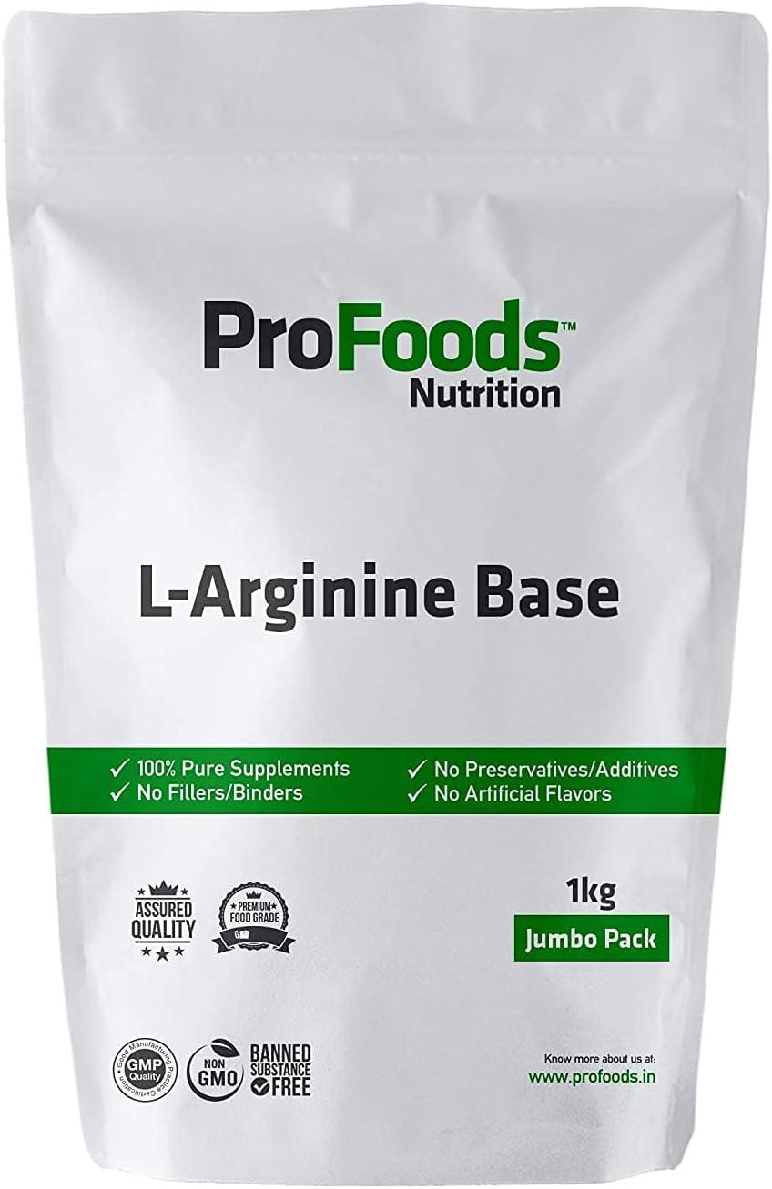 Anjani List price Profoods New color L Arginine 1 kg Base Powder