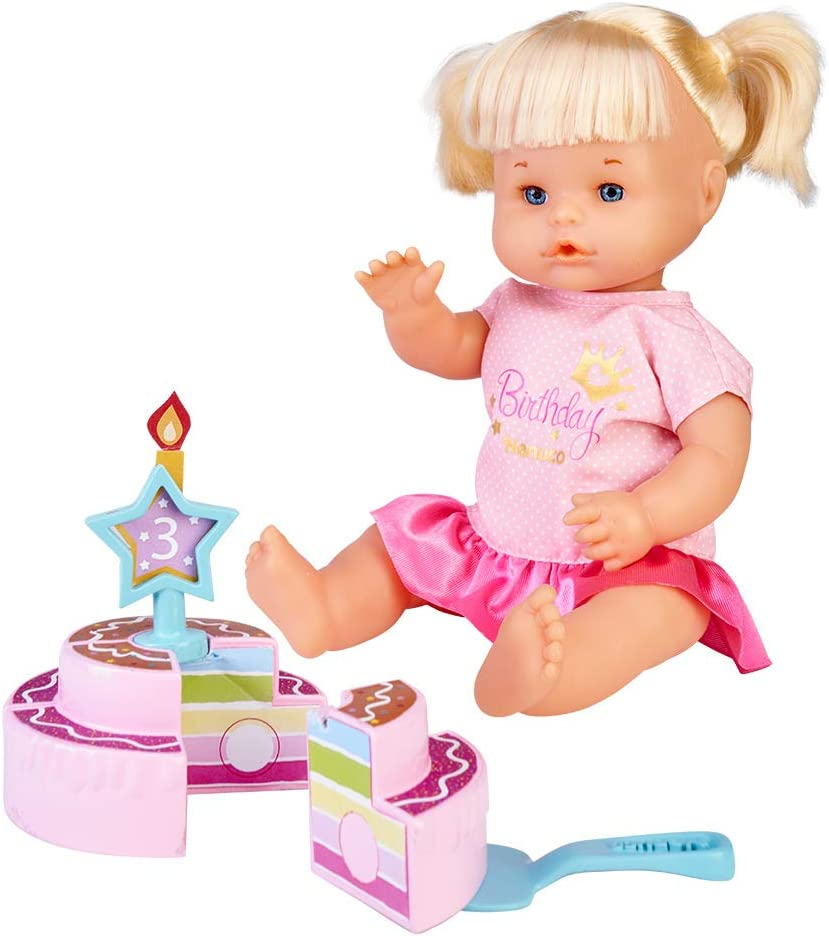Nenuco Happy Birthday Save money Doll with Max 51% OFF Ideal for Childr Cake