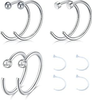 Best open huggie earrings Reviews