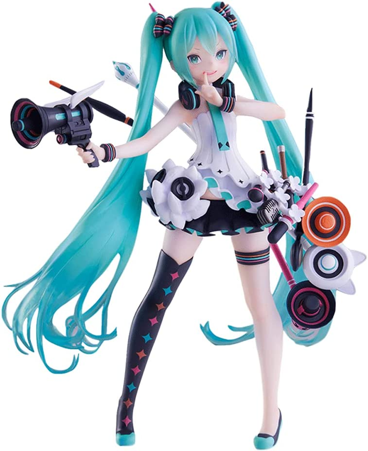 Hatsune Miku Height 18 cm Purchase 7.1 Fi PVC Animation Over item handling ☆ Material in