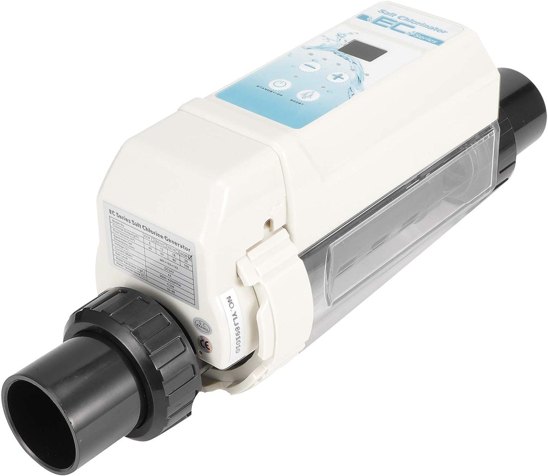 LIKJ Clorador, generador de Cloro Operación Simple Tratamiento de Agua de plástico Tanques de natación y Piscinas infinitas para Piscinas Piscinas de SPA