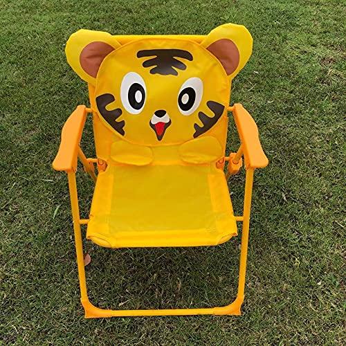woyada Cartoon-Klappstuhl, tragbar, niedlich, bedruckt, leicht, Kinderstuhl, für Outdoor, Camping, Picknick, Wandern (49,7 cm, 38,1 cm)