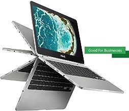"ASUS Chromebook Flip C302 2-In-1 Laptop- 12.5"" Full HD 4-Way NanoEdge Touchscreen,.."