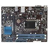 WERTYU Placa Base de computadora Ajuste para Fit For ASUS H61M-E Motherboard H61 Socket LGA 1155 I3 I5 I7 DDR3 16G UATX UEFI BIOS BIOS