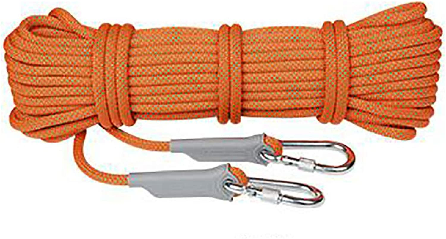 Climbing Rope Outdoor Safety Rappelling Rope Suitable Camping Rrock Climbing Mountaineering On Foot Diving Diameter 8 10.5 12   14mm