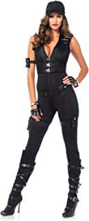 Women's 7 Piece Deluxe Swat Commander Costume