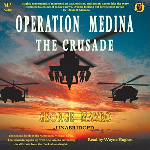 Operation Medina: The Crusade audiobook cover art