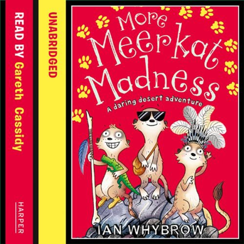 More Meerkat Madness audiobook cover art