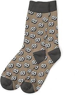 60th Birthday Gift Socks Present Keepsake for Men Age 60 Size 6-11