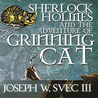 Sherlock Holmes and The Adventure of Grinning Cat cover art