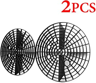 Auto-plaza 2 X 9.25 Inch (23.5cm) Car Wash Grid Guard Washboard Insert Bucket Dirt Remover Filter Black