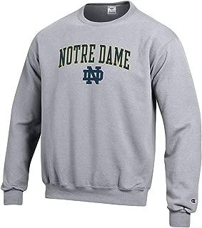 Elite Fan Shop NCAA Men's Crewneck Sweatshirt Oxford Gray