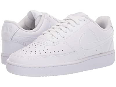 Nike Court Vision Low (White/White/White) Women