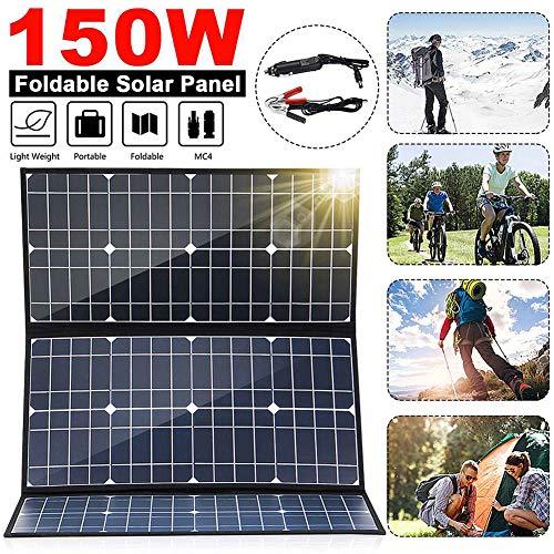 Faltbare 150W 18V Solar Panel Monokristalline Solarzellen 5V USB 12V DC MC4 für Camping/Schiff/RV/Reisen/Zuhause