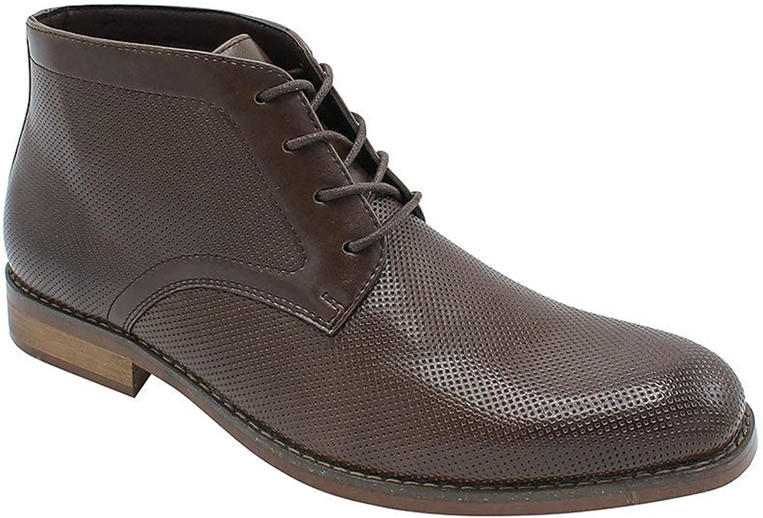 Mario Lopez Men's Formal Dress Casual Ankle Boot Lace Up