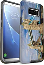 eSwish Gloss Tough Shock Proof Phone Case for Samsung Galaxy Note 8/N950 / Tower Bridge Design/London Sites Collection