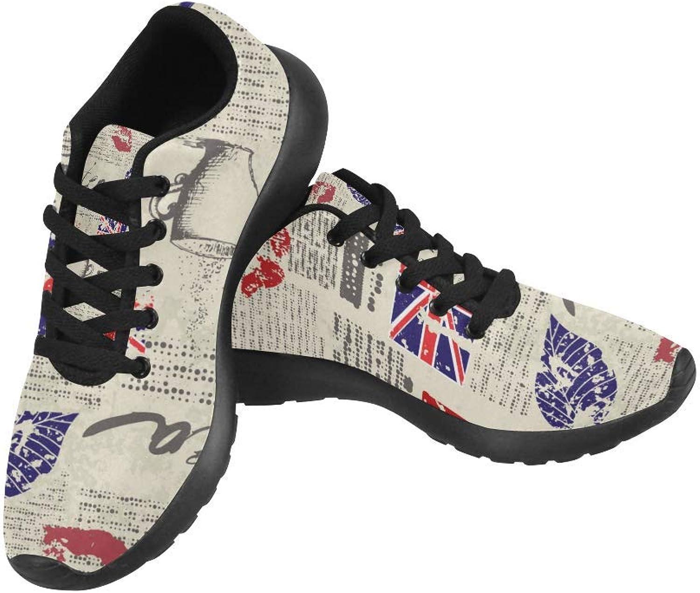 Intressanta utskriftsmönster på Kvinnliga springaning skor Casual ljusljus Athletic skor skor skor US Storlek 6 -15  bekvämt