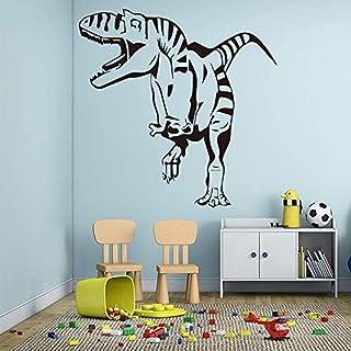 Décoration de la maison Stickers muraux Stickers d'intérieur Dinosaure Chambre d'enfants Dinosaure étanche 58x58cm