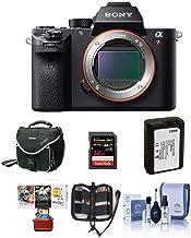Sony a7R II Alpha Full Frame Mirrorless Digital Camera Body - Bundle with Camera Bag, 32GB Class 10 U3 SDHC Card, Spare Ba...