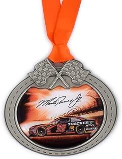 Sparta Martin Truex Jr Car Pewter Metal NASCAR Christmas Ornament