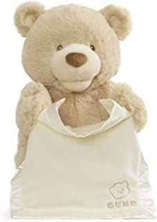 "GUND Animated Peek-A-Boo Bear, 11.5"", Multicolor"