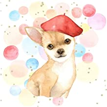 Posterazzi Collection Chihuahua Dog Artist Poster Print by Atelier B Art Studio (24 x 24)