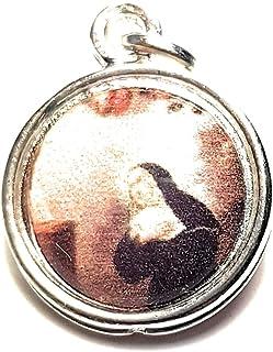 Medalha de relíquia 3ª classe de Santa Rita de Cássia, padroeiro de causas perdidas e impossíveis, doenças, ferimentos, pr...