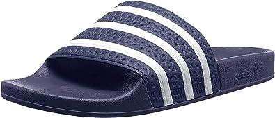 adidas Adilette, Chaussures de Plage & Piscine homme - Bleu ...