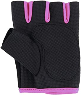 Gym exercise fitness weight lifting training workout gloves - PINK