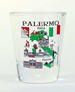 Palermo Sicily Italy Great Italian Cities Collection Shot Glass