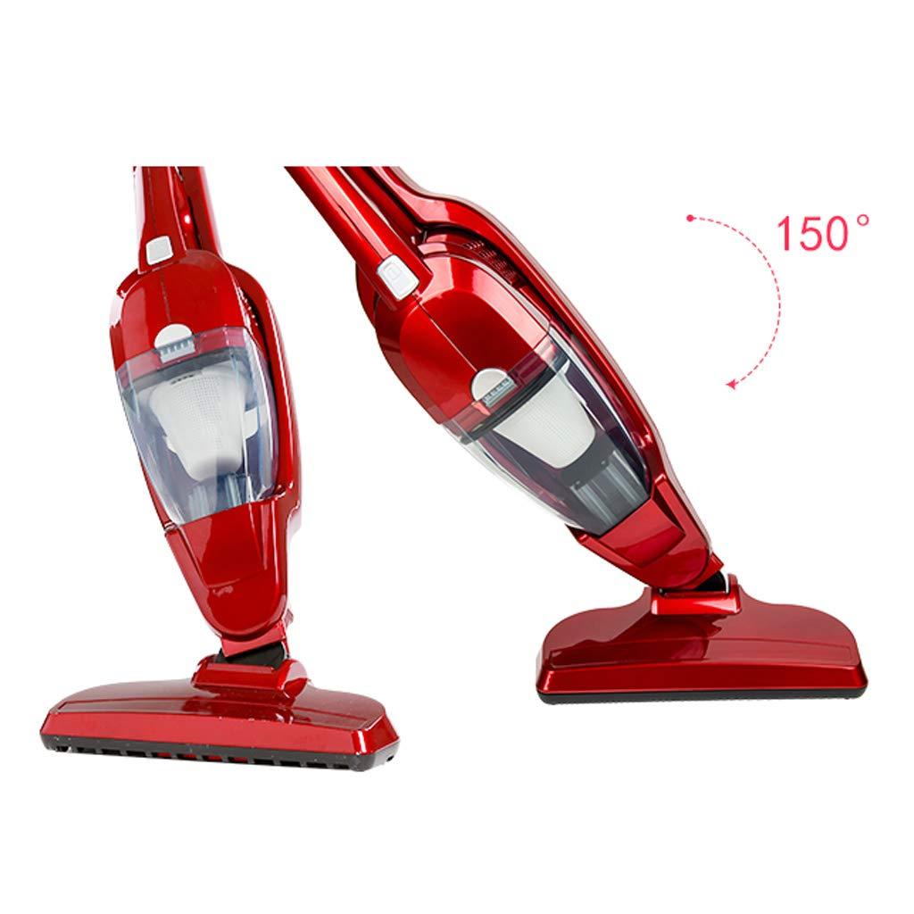 A Vacuum cleaner Aspirador Ultraligero de Uso Doble para el hogar y el automóvil, Aspirador Vertical/Manual portátil Pusher 2 con 1 con Mango ergonómico y Filtro HEPA aspiradora Vertical 10KPA: Amazon.es: Hogar